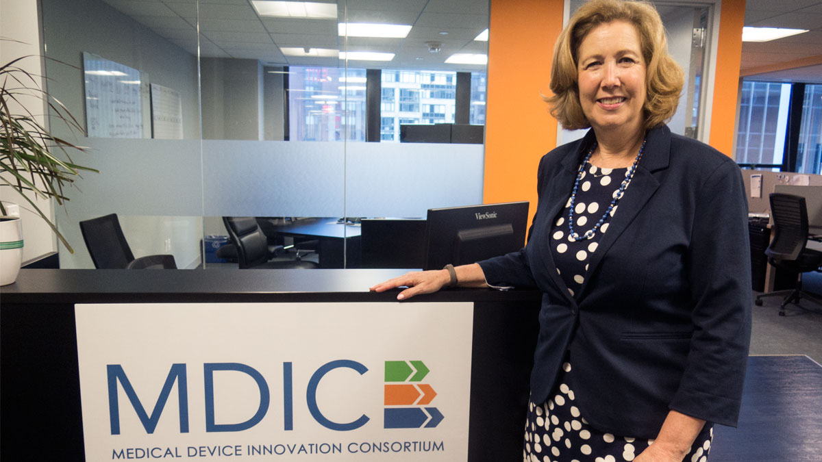 MDIC CEO Pamela Goldberg