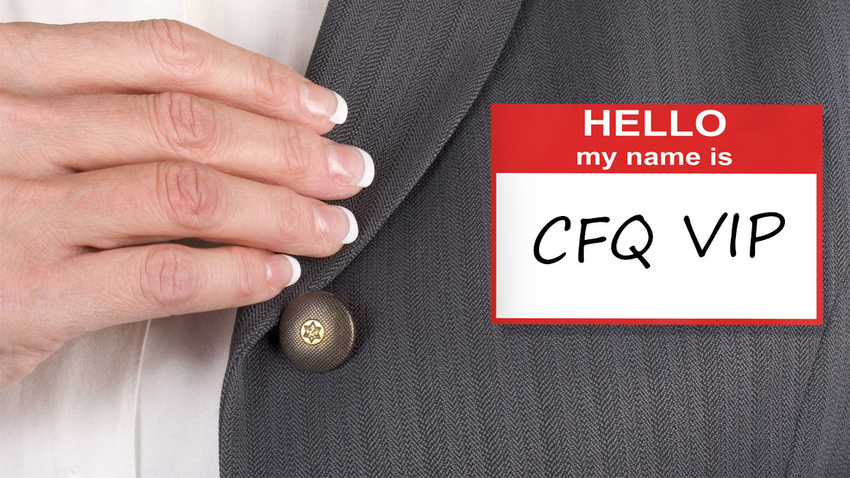 Female with name tag, hello my name is - Image