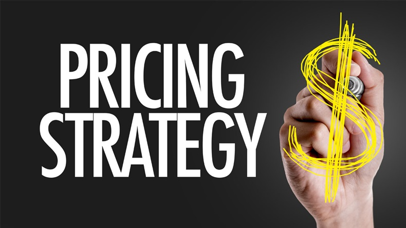 Hand writing the text: Pricing Strategy - Image