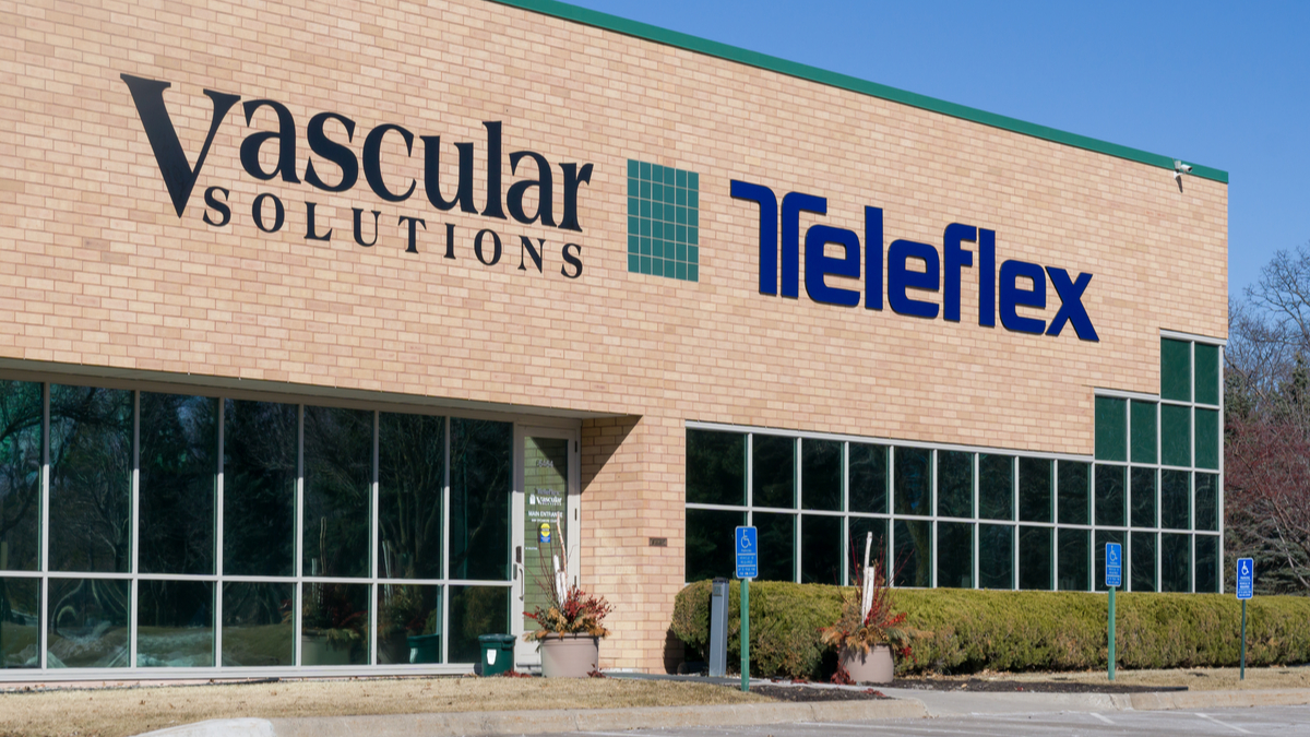 MAPLE GROVE, MN/USA - MARCH 17, 2018: Teleflex and Vascular Solutions corporate building. Teleflex is a provider of specialty medical devices for a range of procedures in critical care and surgery. - Image