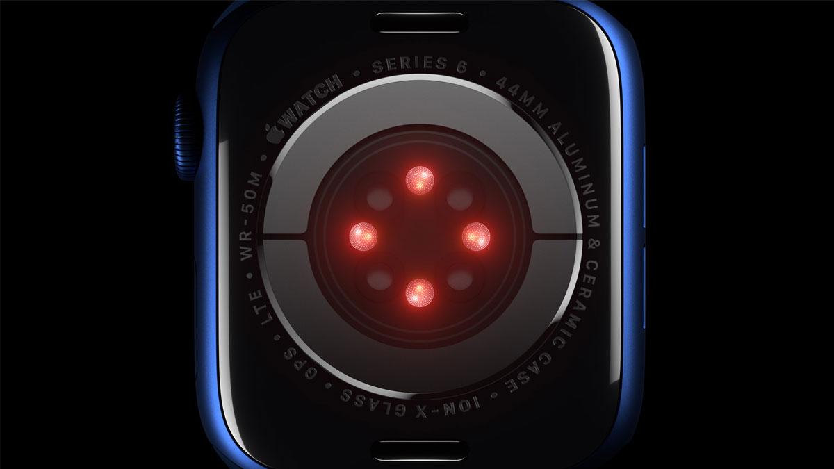 Apple Adds Blood Oxygen Sensor To Apple Watch