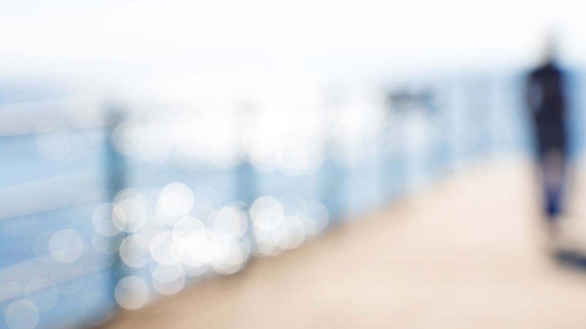 Blurred-sea-background