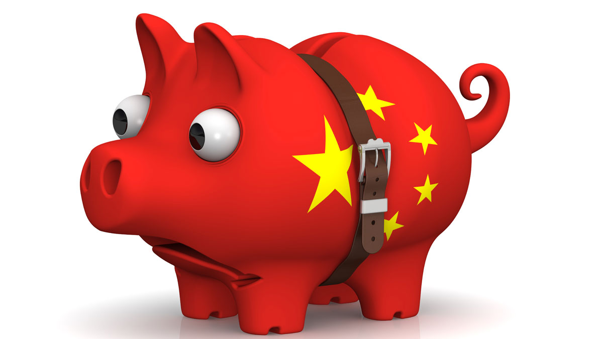 China piggy bank